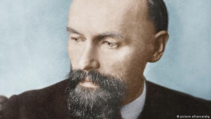 Porträt des Dichters Christian Morgenstern
