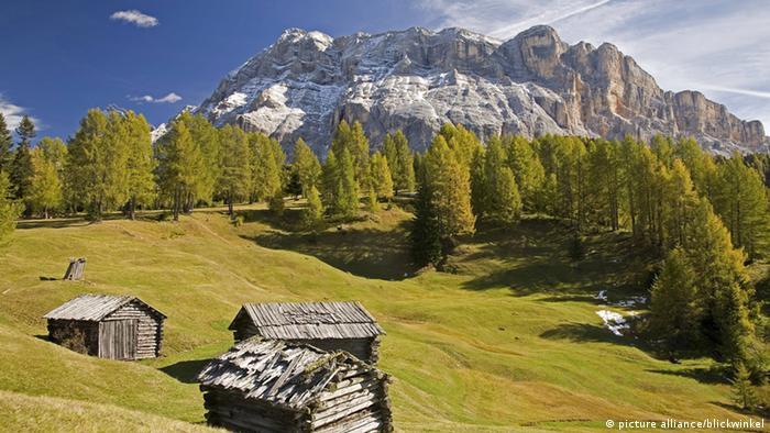 Südtirol Natur Berge Idylle