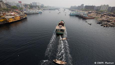 Buriganga Fluss Verschmutzung (Bildergalerie) (DW/M. Mamun)
