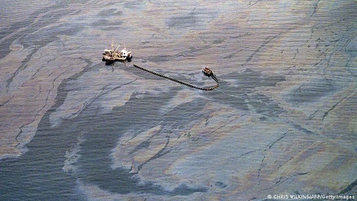 USA Alaska Tanker Unglück Exxon Valdez 1989 Prince William Sund Schiff