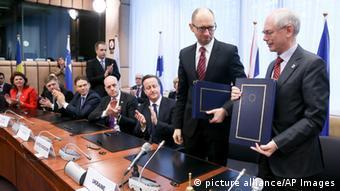 Угоду про асоціацію з ЄС після Євромайдану підписувало нове керівництво України