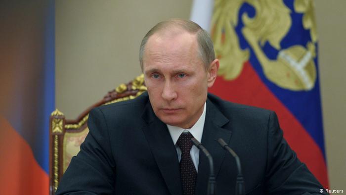 Putin Russland Sicherheitsrat 21.03.2014