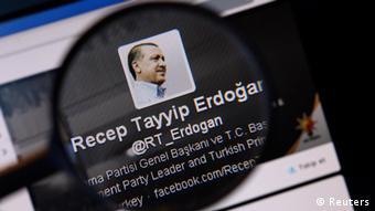 Λογαριασμός του Ερντογάν στο Twitter