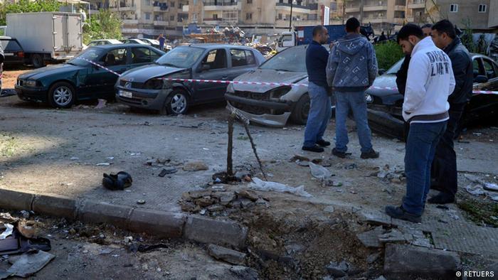 Libanon Bombenanschlag Tripolis 21.3.2014