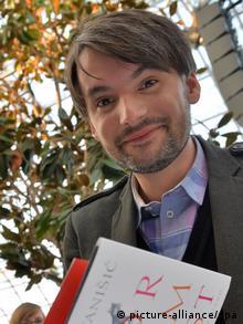 Sasa Stanisic, Autor, erhält 2014 den Preis der Leipziger Buchmesse Belletristik