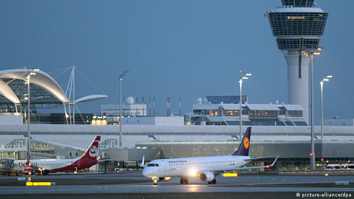 Munich Airport, Copyright: Rene Ruprecht/dpa
