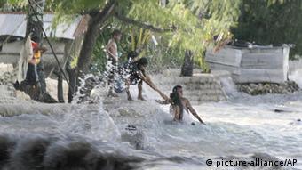 Flooding in Kiribati