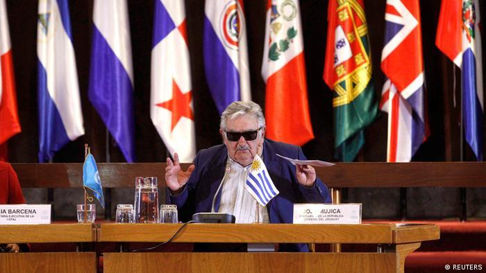 Jose Mujica Präsident Uruguay (REUTERS)