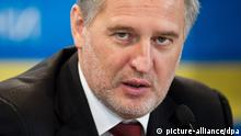 epa04123711 (FILE) A file picture taken on 29 November 2011 showing Ukrainian businessman Dmitry Firtash during the congress of the Employers Federation of Ukraine in Kiev. Dmitry Firtash, a co-owner of Rosukrenergo, a Swiss-based gas trading firm co-owned by the Russian giant Gazprom was reportedly imprisoned in Vienna, Austria, 13 March 2014. EPA/INNA SIKOLOVSKAYA +++(c) dpa - Bildfunk+++