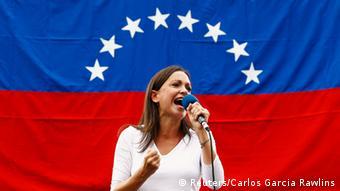 La líder opositora María Corina Machado.