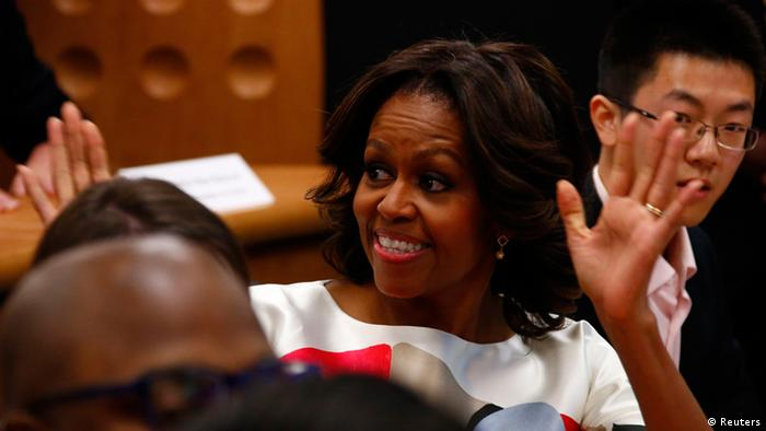 Michelle Obama Chinareise (Bildergalerie)