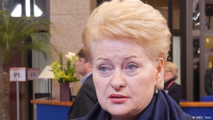 Президентка Литви Далія Грибаускайте