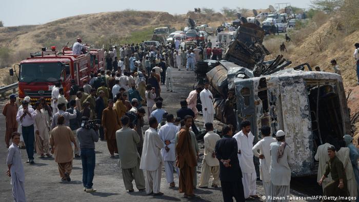 Busunglück in Pakistan