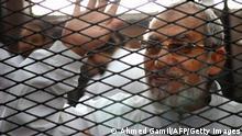Mohammed Badie hinter Gittern
