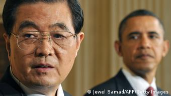 Hu Jintao und Barack Obama (Foto: JEWEL SAMAD/AFP/Getty Images)