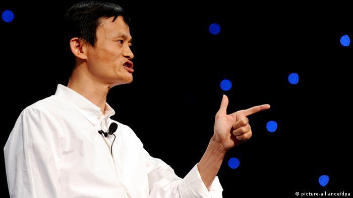 Jack Ma Gründer von Alibaba (picture-alliance/dpa)