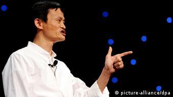 Jack Ma Gründer von Alibaba