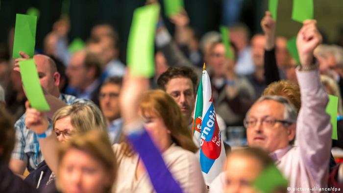 Parteitag Alternative für Deutschland (AfD) in Erfurt 23.3.2014