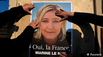 Front National poster (photo: Reuters)