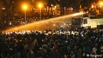Taiwan Taipeh Proteste gegen Handelsabkommen mit China