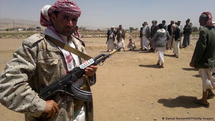 Jemen Rebellen 23.03.2014 (Gamal Noman/AFP/Getty Images)