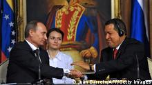 Putin bei Chavez 02.04.2010