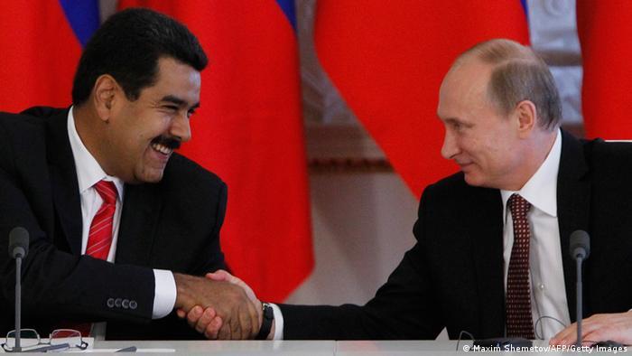Maduro bei Putin 02.07.2013