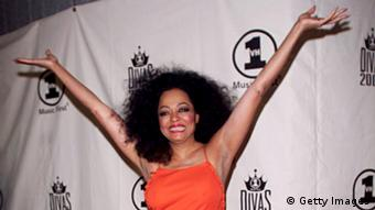 Singer Diana Ross at a VH1 ceremony