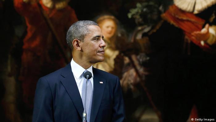 Barack Obama PK in Amsterdam 24.03.2014