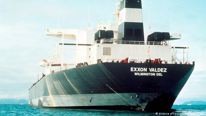 Exxon Valdez Umweltkatastrophe (picture-alliance/US coast guard)