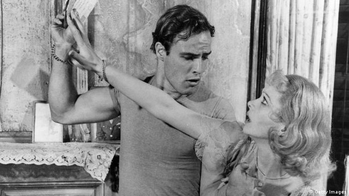 Marlon Brando e Vivien Leigh no filme de Elia Kazan Um bonde chamado desejo