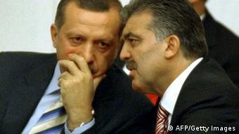 Türkei Premierminister Erdogan Präsident Gül