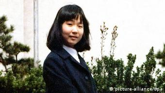 Japanese student Megumi Yokota, believed to havebeen abducted by North Korean agents
