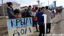 Krim Atmosphäre in Simferopol