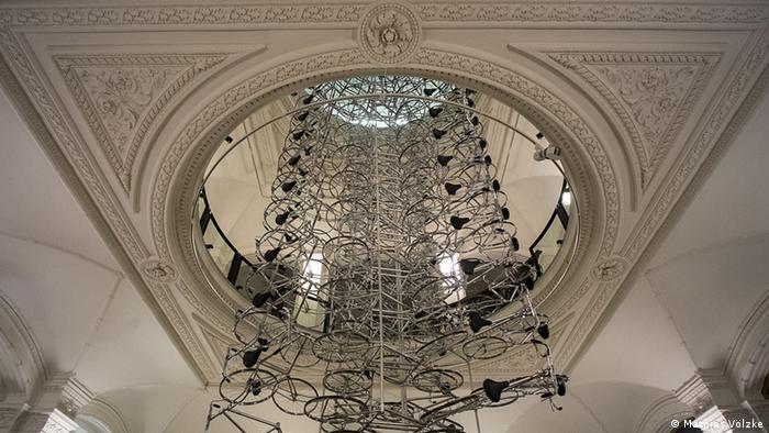 Ai Weiwei's installation made out of bicycles, Copyright: Mathias Völzke