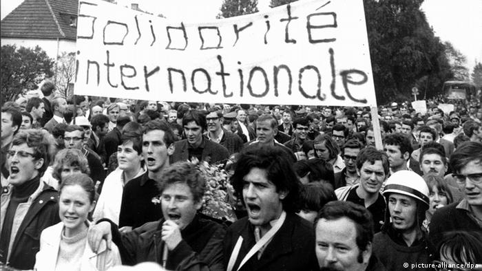 Daniel Cohn-Bendit Demonstration 1968