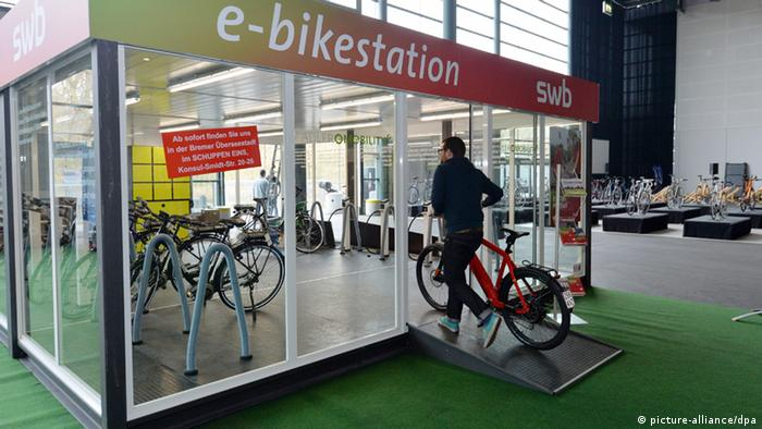 E-Bike Ladestation (Foto: dpa)