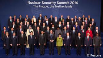 Οικογενειακή φωτογραφία των ηεγτών στη σύνοδο κορυφής