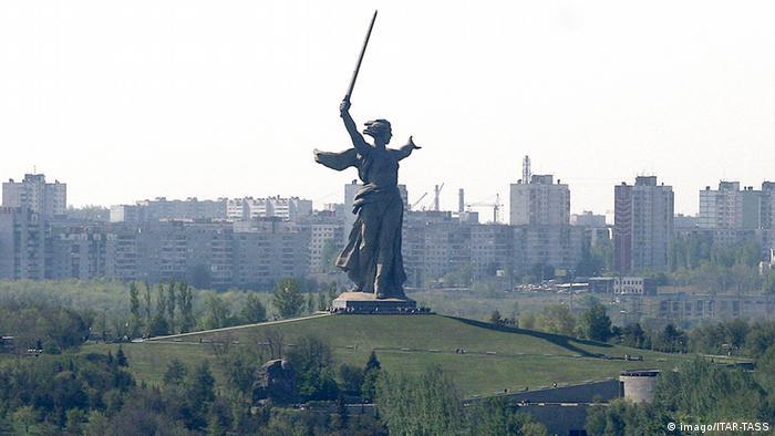 Motherland Calls in Volgograd, Russia