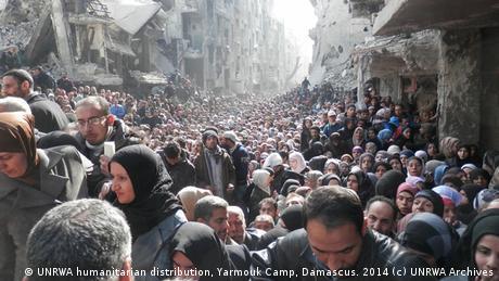Yarmouk Camp Damaskus Syrien (Foto: Rami al-Sayed for unrwa.org)
