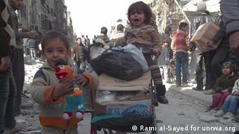 Yarmouk Camp Damascus Syrien