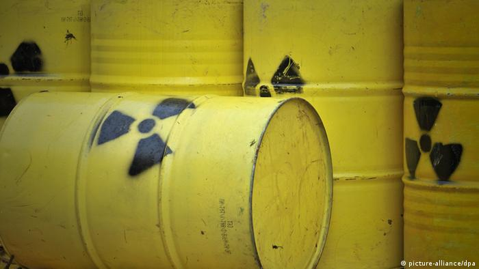 Nuclear waste barrels (Photo: Philipp Schulze dpa/lni)