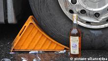 Symbolbild Betrunken am Steuer