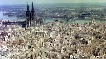 Zweiter Weltkrieg - Köln Zerstörung Innenstadt