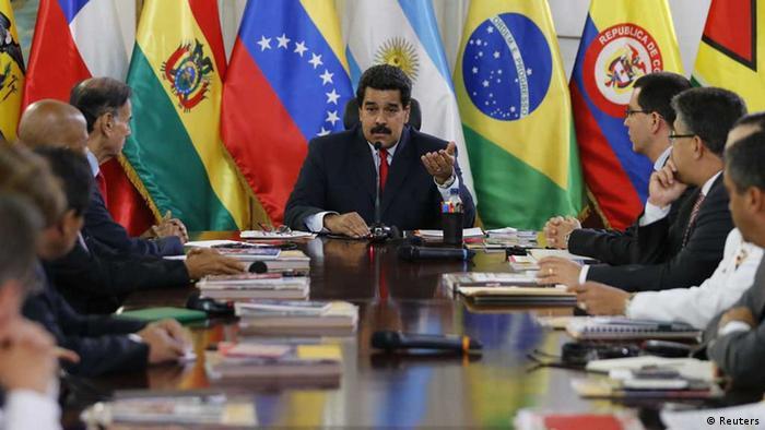Maduro comanda cúpula em 2014: Venezuela é pivô do ocaso da Unasur