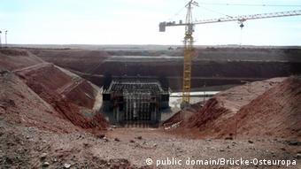 Construction work at the Oyu Tolgoi copper and gold mine in Mongolia (Photo: public domain/Brücke-Osteuropa)