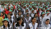 Description: A crowd of more than 250,000 people sang the Bangladeshi national anthem Wednesday on the country's 43rd Independence Day, aiming for a Guinness World Record. Keywords: Independence Day, Bangladesh, National anthem, Dhaka Decleration: DW's Dhaka photographer Mustafiz Mamun send these photos for online use.