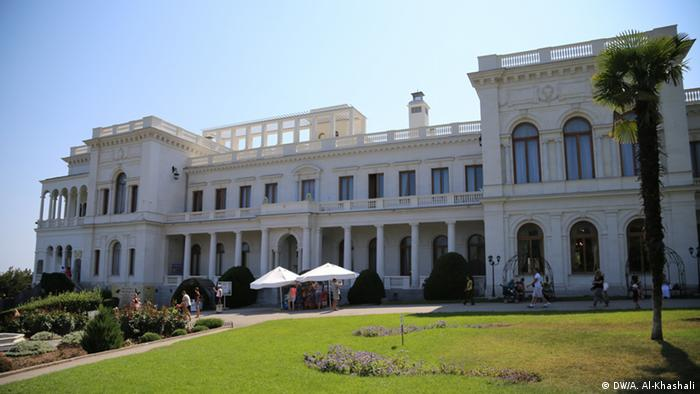 The Livadia Palace in Crimea, site of the Yalta Conference in 1945
