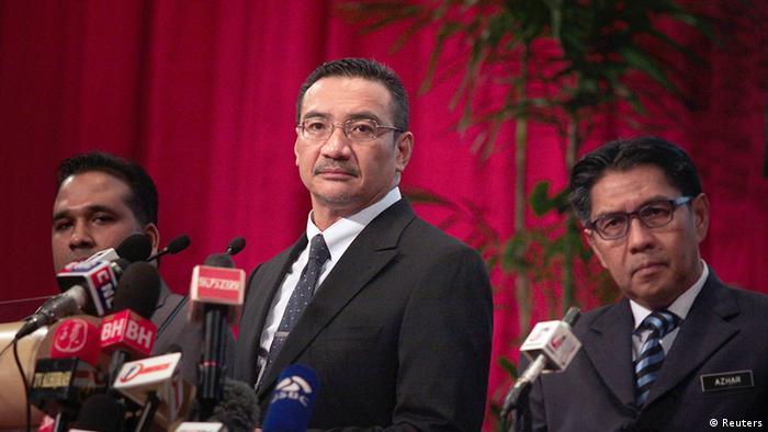 Menlu Malaysia Hishammuddin Hussein