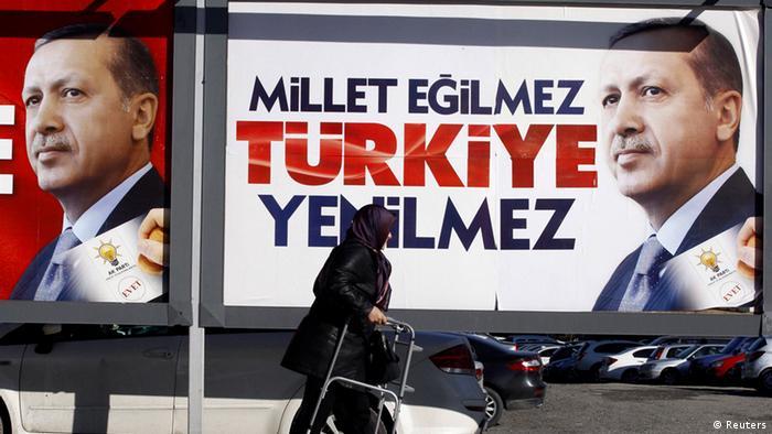 Kommunalwahlen in Istanbul Wahlplakat (Foto:REUTERS/Osman Orsal)